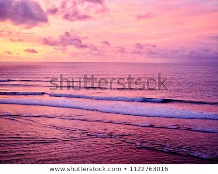 Surfer at Balinese beach, Indonesia Stock photo © joyr