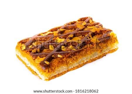 Holandés almendra especias cookies pequeño cuadrados Foto stock © Digifoodstock