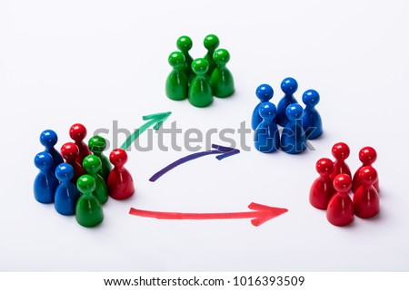 Market Segment And Customer Audience Stock photo © AndreyPopov