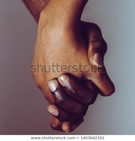 ırkçılık topluluk destek sosyal yardım grup Stok fotoğraf © Lightsource