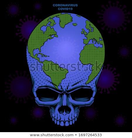 martwych · planety · Ziemi · wody · globalny · ekologiczny · katastrofa - zdjęcia stock © njaj