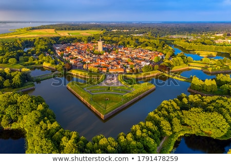 Medieval fort in the Netherlands Stock photo © Hofmeester
