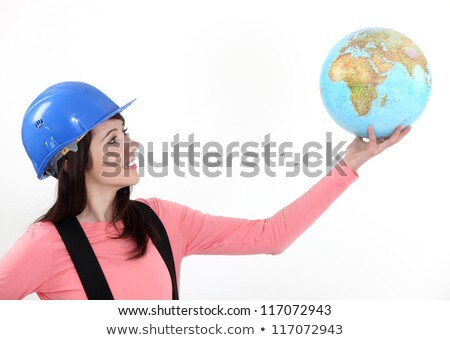 Tradeswoman with a vision Stock photo © photography33
