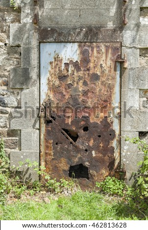 stone pit walls in sunny ambiance Stock photo © gewoldi