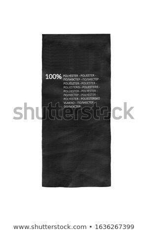 100% polyester Stock photo © Stocksnapper