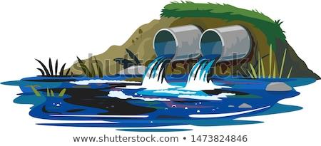 release of water Stock photo © RuslanOmega