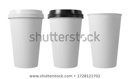 午前 · カップ · コーヒーカップ · コーヒー · ストア · レストラン - ストックフォト © olgaaltunina