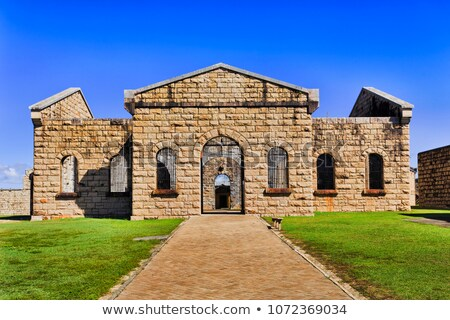 trial bay gaol Stock photo © clearviewstock