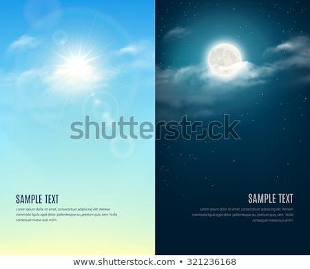 Day and night conception Stock photo © deyangeorgiev