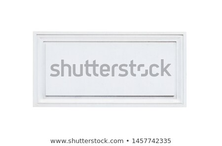 Fehér fogkő öreg fal felirat kék Stock fotó © pedrosala