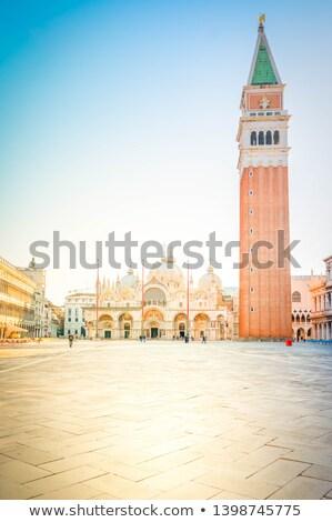 venice italy san marco square belltower stock photo © keko64