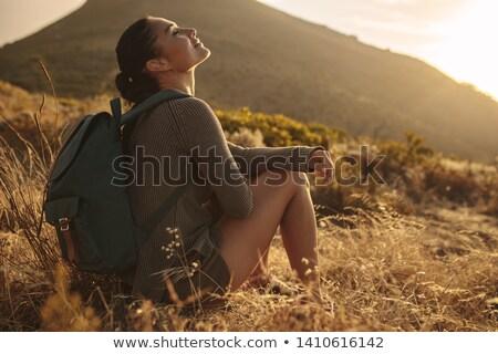 sentier · montagne · montagnes · Pologne · mode · pied - photo stock © janhetman