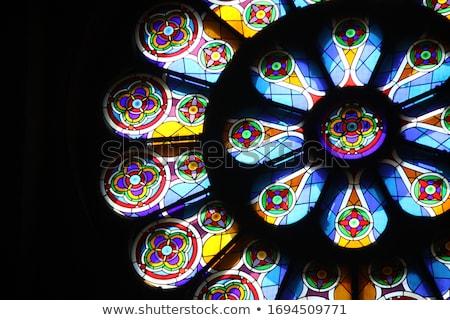 ゴシック · 窓 · ウィンドウ · 英語 · 家 - ストックフォト © chatchai