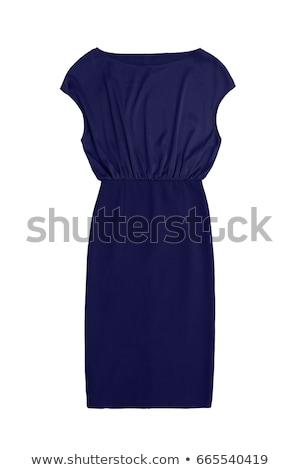 blue satin textile stock photo © ozaiachin