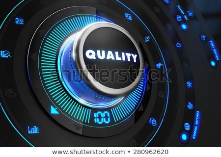 Preto controlar consolá azul backlight melhoria Foto stock © tashatuvango