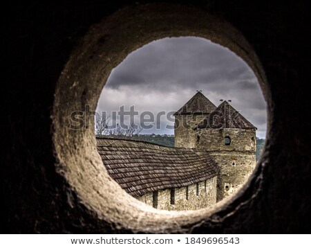 Fortress view from a tower window Stock photo © lightkeeper