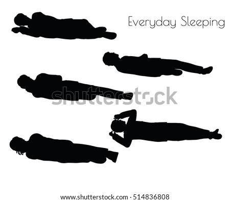 boy in Everyday Sleeping pose on white background Stock photo © Istanbul2009