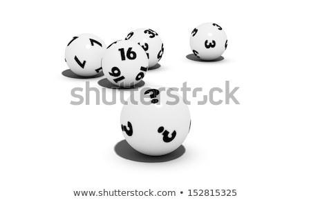 Lottery balls question stock photo © Oakozhan