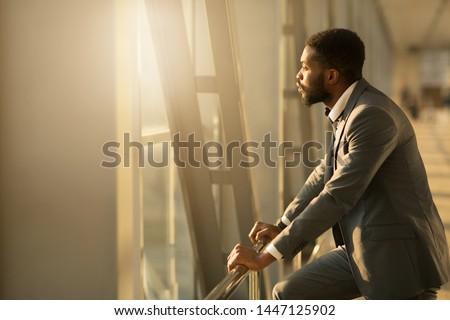 Severe businessman Stock photo © ambro