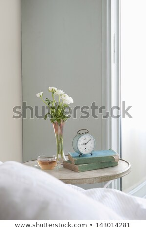 bedroom interior closeup stock photo © neirfy