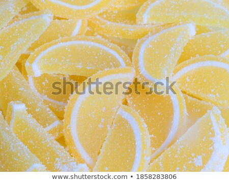 Frutta gelatina bianco candy zucchero Foto d'archivio © Digifoodstock