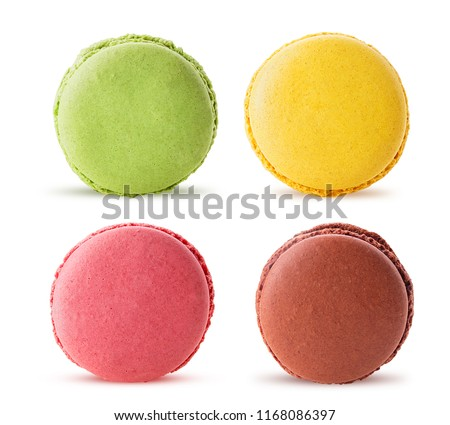 French macaroon dessert Stock photo © nessokv