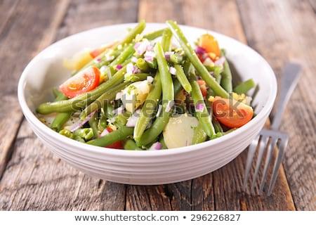 文字列 · 豆 · 食品 · 庭園 · 緑 · ディナー - ストックフォト © ildi