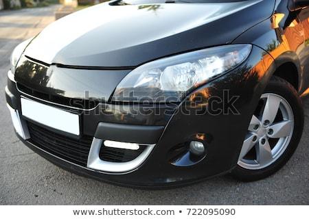 coupe · preto · quente · amarelo · esportes · carro - foto stock © ruslanshramko