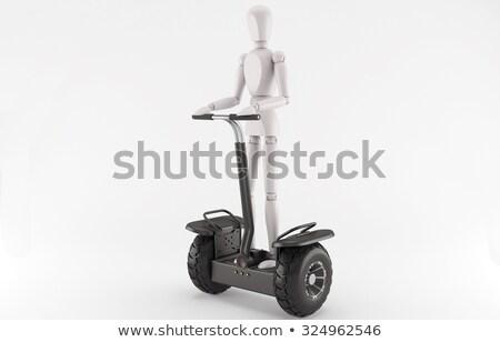Segway Two-Wheeled Self-Balance Human Transporter Stock photo © robuart