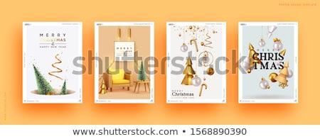 スタイリッシュ パーティ チラシ テンプレート デザイン ストックフォト © SArts