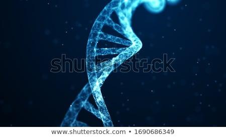 構造 ウイルス 青 3次元の図 健康 薬 ストックフォト © ISerg