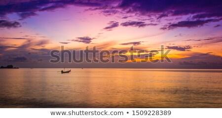 Ocean sunset with dramatic sky Stock photo © dmitry_rukhlenko