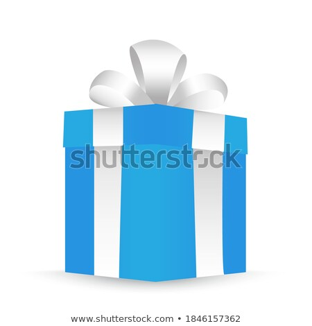 Closed Paper Bag For Food Packaging isometric icon Stock photo © pikepicture