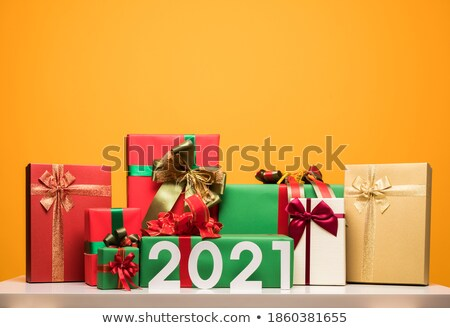 Presenting alot of gifts Stock photo © leeser