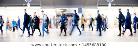 train station exit stock photo © bobkeenan
