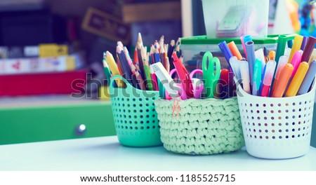 kalem · siyah · hat · yalıtılmış · beyaz · ofis - stok fotoğraf © a2bb5s