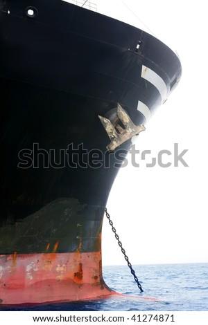 Rood · vracht · boot · haven · wind · hemel - stockfoto © lunamarina
