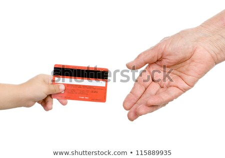 empresario · padre · mano · nino · familia · manos - foto stock © lunamarina