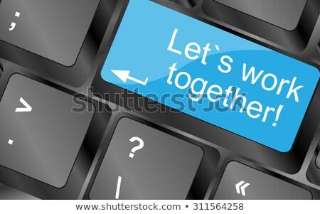 livre · citar · mensagem · branco · cartão · de · visita - foto stock © fotoscool
