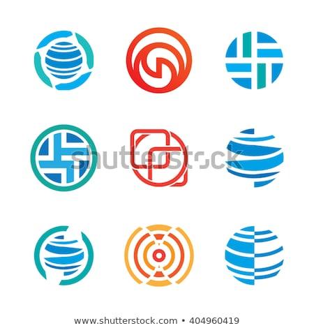 гребень аннотация икона бизнеса дизайна промышленности Сток-фото © cidepix