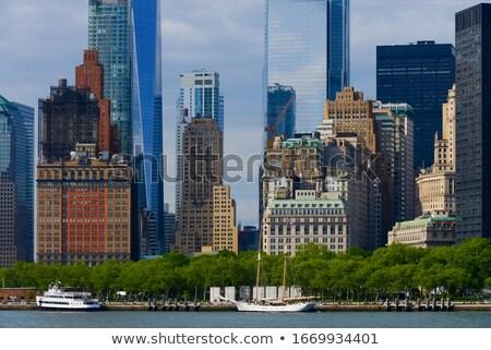 détail · pont · Manhattan · New · York · City · USA · bâtiments - photo stock © hofmeester