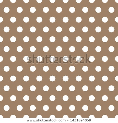 Beige fabric with brown polka dots Stock photo © Zerbor
