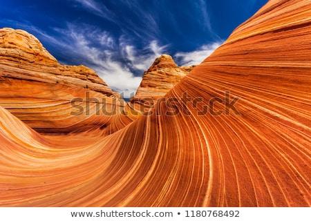 Formation rocheuse ciel bleu Rock pierre horizons granit Photo stock © gemenacom