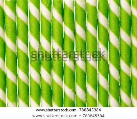 Striped wafer rolls  Stock photo © designsstock