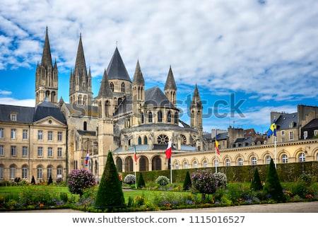 katedral · şampanya · Fransa · Bina · sanat - stok fotoğraf © phbcz