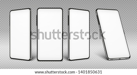 Mobiele telefoon hand communicatie afbeelding telefoon Blauw Stockfoto © fantazista