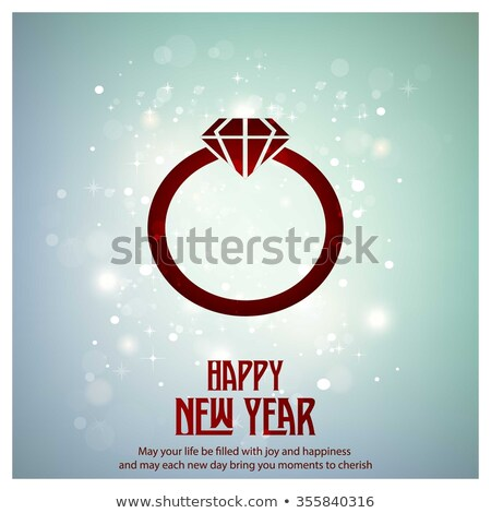 vector diamond 2016 text stock photo © elisanth