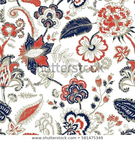 Floral folkloric elements Stock photo © kariiika
