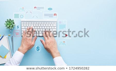Disruptive marketing concept Stock photo © stevanovicigor