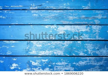 Pintar parede azul concreto padrão cimento Foto stock © chris2766